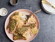 Slow Roasted Mustard-y Salmon