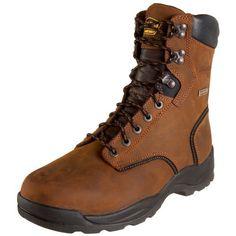 "LaCrosse Men's 8"" Quad Comfort 4X8 HD Steel Toe Work Boot LaCrosse. $151.99. Nylon shank. 30 Day Comfort Gurantee. leather. 100% waterproof Dry-Core lining. Rubber sole"