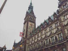 Hamburg town hall #rathaus
