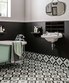 Transform your bathroom into a beautifully stylish retreat with the help of our range of stunning bathroom wall tiles. Hookah Lounge Decor, Patchwork Tiles, Topps Tiles, Small Tiles, Encaustic Tile, Vintage Tile, Bathroom Wall, Family Bathroom, Bathroom Inspo