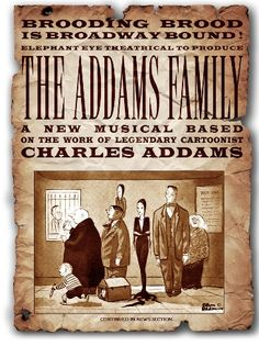 Broadway pre-show poster