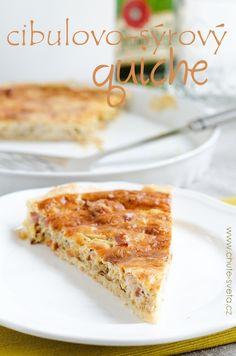 cibulovo-sýrový quiche