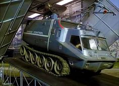 Would love to trundel down to Tesco's in one of these . Joe 90, Ufo Tv Series, Thunderbirds Are Go, Retro Rocket, Sci Fi Tv Shows, Penelope, Sci Fi Ships, Lost In Space, Old Tv
