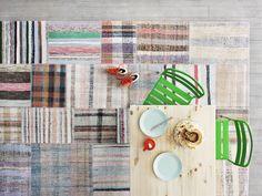 MATTOR tapijt | #IKEA #uniek #vintage #kleed #tapijt #vloerkleed #patchwork