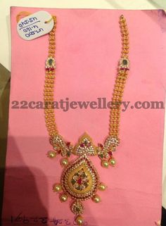 Jewellery Designs: 60 Grams Antique Gold Sets