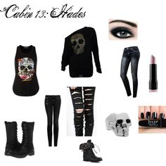 """Cabin 13: Hades"" by alicephantomhive-payne on Polyvore"