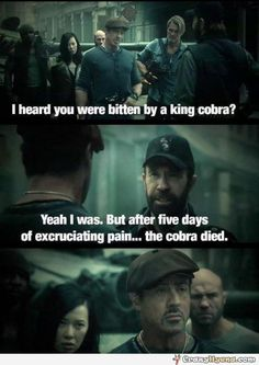 One of my favorite lines from that movie!!! And delivered by Chuck Norris himself! Priceless! <3