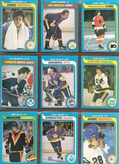 316-324 Michel Dion, Randy Manery, Barry Dean, Pat Boutette, Mark Heaslip, Dave Inkpen, Jere Gillis, Larry Brown, Alain Cote