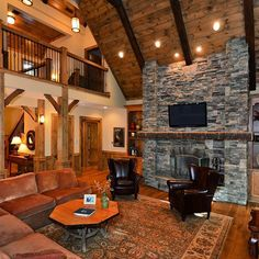 This luxurious mountain lodge features a custom designed gourmet kitchen perfect for entertaining, a welcoming master suite complete with a soothing spa bath, relaxing outdoor waterfall and koi pond along with user-friendly Smarthouse technology and secur