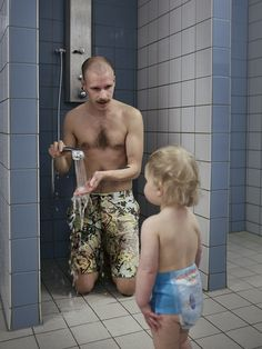 Swedish Dads by photographer Johan Bävman. Sweden has one of the most generous systems in the world.