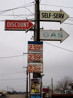 Gas Station, Sweetwater, Texas