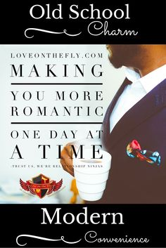"""Don't let the romance fade after you say """"I Do."""" Sign up for loveonthefly.com and we will make you more romantic one day at a time."""
