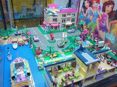 36. Lego Design, Lego Bedroom, Girls Bedroom, Lego Friends Sets, Lego Table, Lego Storage, Equestria Girls, Lego City, Kidsroom