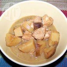 Ragoût de poulet, à la mijoteuse @ qc.allrecipes.ca