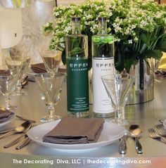 Modern Sex in the City Table Decoration | The Decorating Diva, LLC