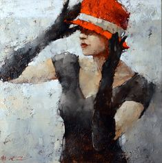 Andre+Kohn.+At+The+Milliners.+24x24.+Oil+on+Canvas.+£4950.jpg (1000×1008)
