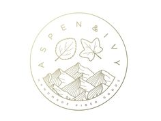 Aspen & Ivy Badge by Dallas Barnes