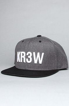 The Semilla Starter Cap in Charcoal Heather by KR3W