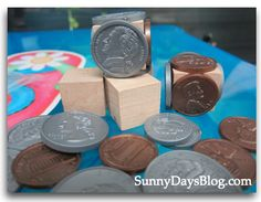 Classroom DIY: DIY Money Manipulatives www. Teaching Money, Creative Teaching, Teaching Math, Teaching Ideas, Math Tutor, Math Resources, Math Activities, Math Games, Math Strategies