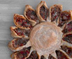 Il Girasole di Melanzane è una ricetta facile, veloce da preparare e da mangiare anche con gli occhi per quando è bello. Che ne dite, lo prepariamo insieme?