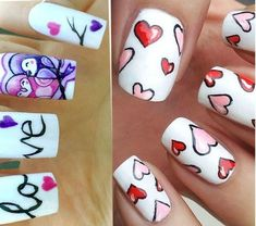 Great manicure ideas for Valentine's Day