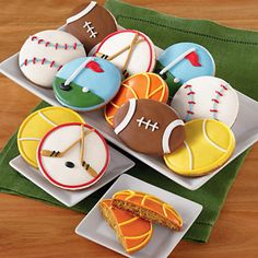 Sports Cookie Box |  Fathers Day Cookies