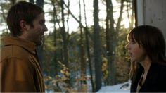 Michael Stahl-David as Dylan Kershaw and Zoe Kazan as Rebecca Porter in In Your Eyes (2014) - finally . . .