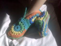 Ravelry: alisengraham's hippie slippers