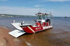Lake Assault Fireboat On Duty at the Waconia (MN) Fire Department - Fire Apparatus