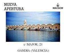 Macson Stores | Inauguramos tienda Macson en Gandia, Valencia.