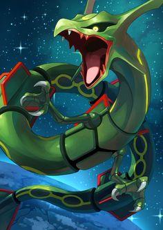 Artwork from the Pokemon universe. Pokemon Fan Art, Pokemon Dragon, O Pokemon, Pokemon Comics, Pokemon Cards, Pokemon Rayquaza, Bulbasaur, Cool Pokemon Wallpapers, Pokemon Backgrounds