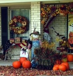 Penny's Vintage Home: Pumpkins and Scarecrows