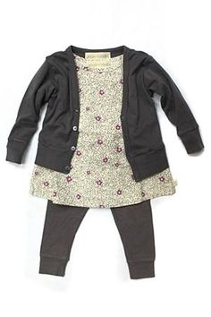 Go Gently Baby Floral Tunic Set