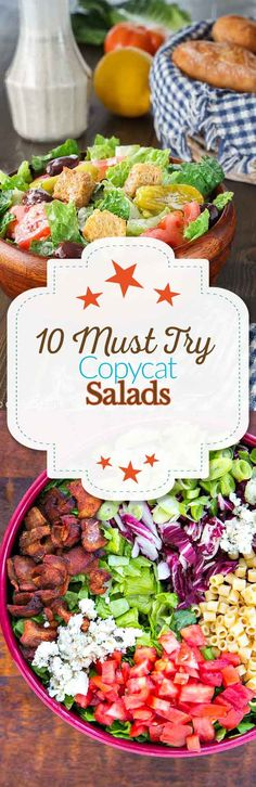 """<p>This copycat Portillos salad has everything in it but the kitchen sink. Get this <a href=""""http://www.thewickednoodle.com/portillos-chopped-salad/"""">recipe</a>.</p>"""