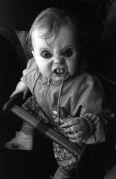 This really creeps me out, and not much creeps me out!