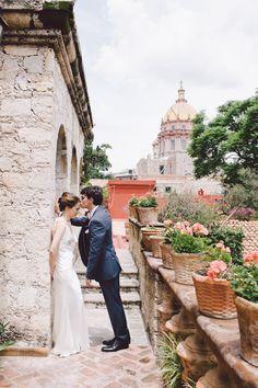 San Miguel de Allende, Mexico. Casa Hyder wedding