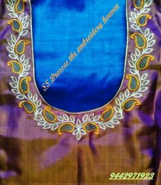 Cutwork Blouse Designs, Kids Blouse Designs, Simple Blouse Designs, Bridal Blouse Designs, Blouse Neck Designs, Kurta Designs, Neckline Designs, Hand Work Blouse, Mirror Work Blouse