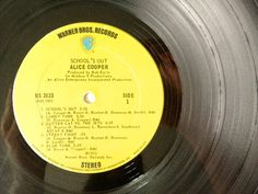 Alice Cooper School's Out LP Vinyl Record Album by ThisVinylLife