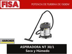ASPIRADORA NT 30/1 Potencia de turbina de 1500 W-FERRETERIA INDUSTRIAL -FISA S.A.S Carrera 25 # 17 - 64 Teléfono: 201 05 55 www.fisa.com.co/ Twitter:@FISA_Colombia Facebook: Ferreteria Industrial FISA Colombia