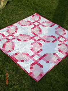 Pink baby scrap quilt for Charli fall 2011
