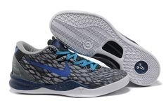 buy online da393 94e73 Nike Zoom Kobe VIII Männer Schwarz Dunkelblau Snake, Dark, Kobe 8 Shoes,  Jordan