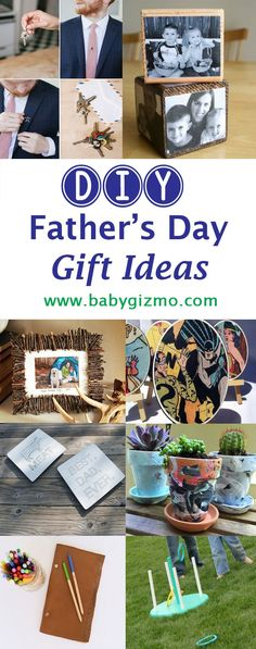 Crafts and DIY ideas | Hopefully, these from-the-heart DIY gifts will provide you with the inspiration you need to celebrate the dads in your life this Father's Day!