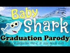 Preschool Graduation Discover Baby Shark Graduation Parody Kinder Pre-K Pre School Graduation Ideas, Kindergarten Graduation Songs, Graduation Poems, Graduation Crafts, School Ideas, Graduation Songs For Kids, Parody Songs, Pre K Activities, Amigurumi