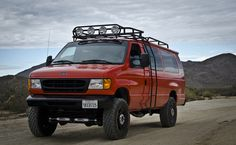 Ford Build - Page 2 - Expedition Portal 4x4 Van, 4x4 Camper Van, Off Road Camper, Muscle Cars, Jdm, Ford 4x4, Ford E250, Ford E Series, Bug Out Vehicle