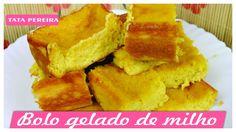 BOLO GELADO DE MILHO