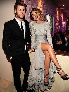 Miley Cyrus y su prometido