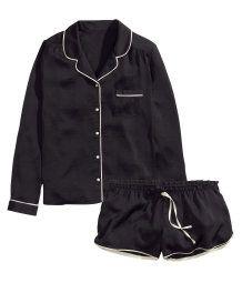 Satin Pajamas from H&M