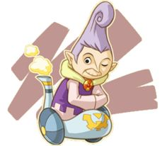Bicelle est la Locomo qui veille sur les sceaux de la tour des Dieux, la Flûte de la Terre lui appartenait avant qu'elle ne la cède à Tetra