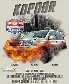 Kopdar nissan xtrail FOXI family of xtrail indonesia