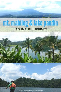 Day trip to Mount Mabilog and Lake Pandin, Laguna, Philippines. Including sample itinerary to Lake Pandin and rates.